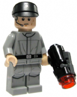 Lego Star Wars: Imperial Technician with Blaster - Minifigure